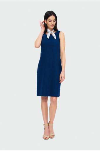 Sukienka z lnem