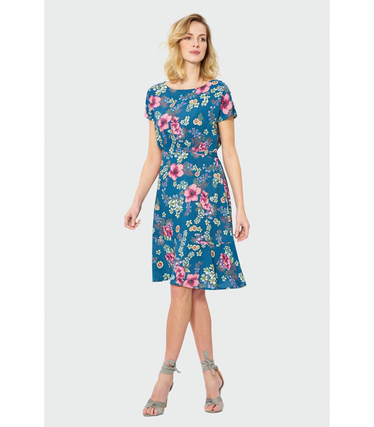 43b7638bb1 Sukienka w kwiaty Rozmiar 36 Kolor S19FLW63