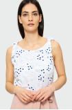 Bluzka z wiązaniem na ramionach