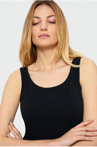Bawełniany top na ramiączkach