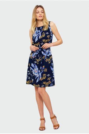 fa99ac02b3 Wiskozowa sukienka bez rękawów