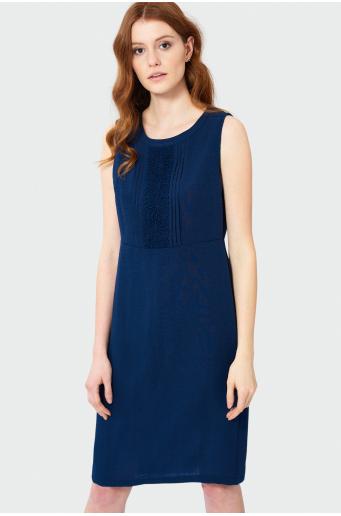 Elegancka sukienka z koronką