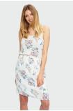 Wiskozowa sukienka na ramiączkach