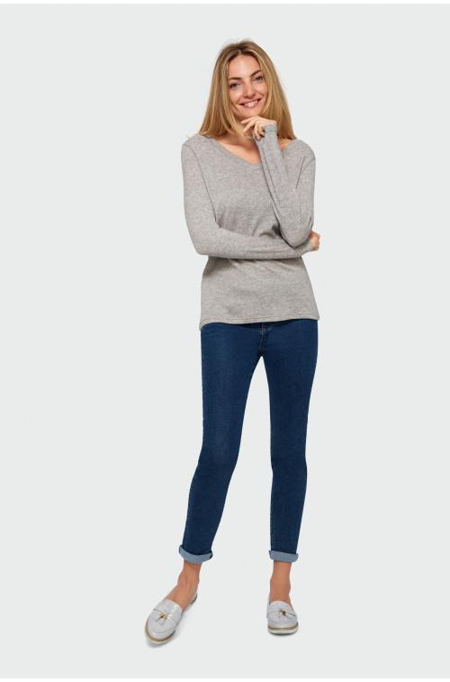 Dopasowany sweter