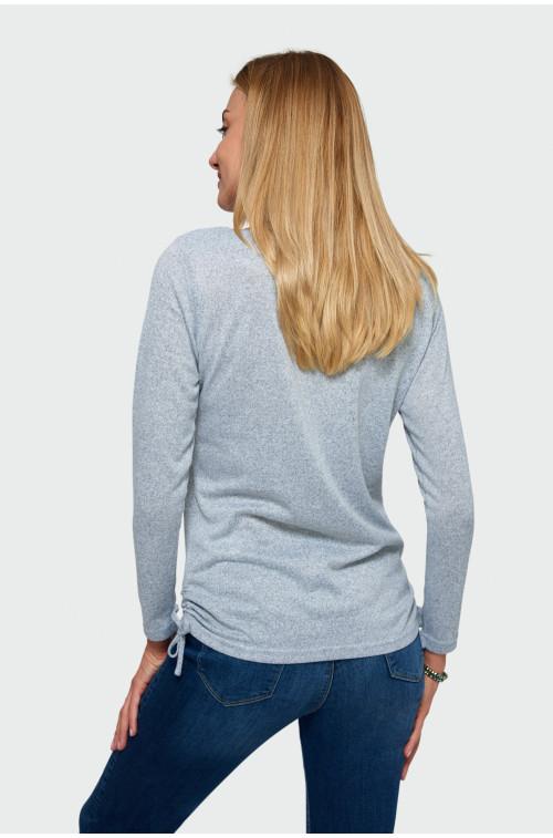 Sweter ze ściągaczami