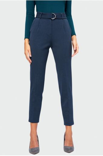 Eleganckie spodnie z zakładkami