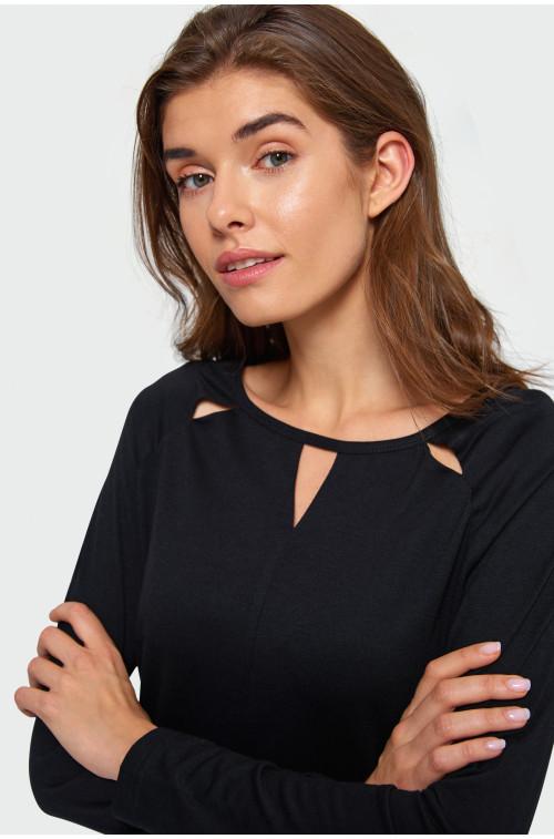 Elegancka bluzka dzianinowa