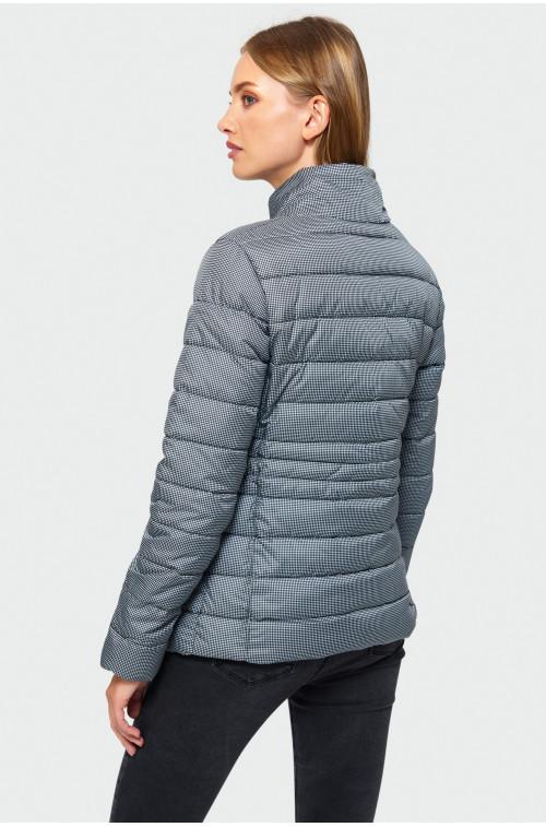 Wzorzysta kurtka pikowana