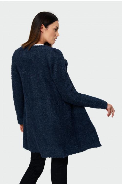 Sweter płaszczowy