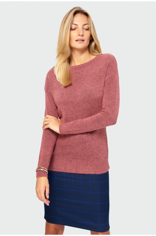 Gładki sweter
