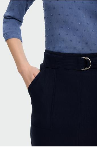 Spódnica Ołówkowa z paskiem