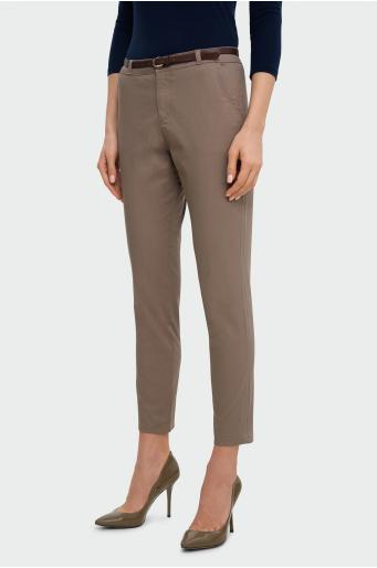 Bawełniane spodnie chino