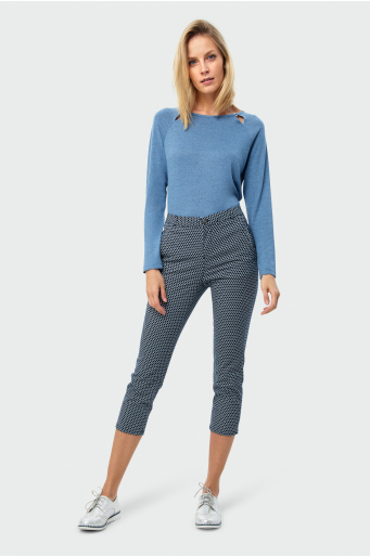 Spodnie z nadrukiem