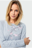 Sweter z aplikacją