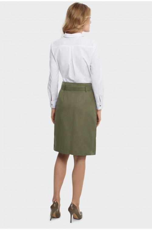 Trapezowa spódnica