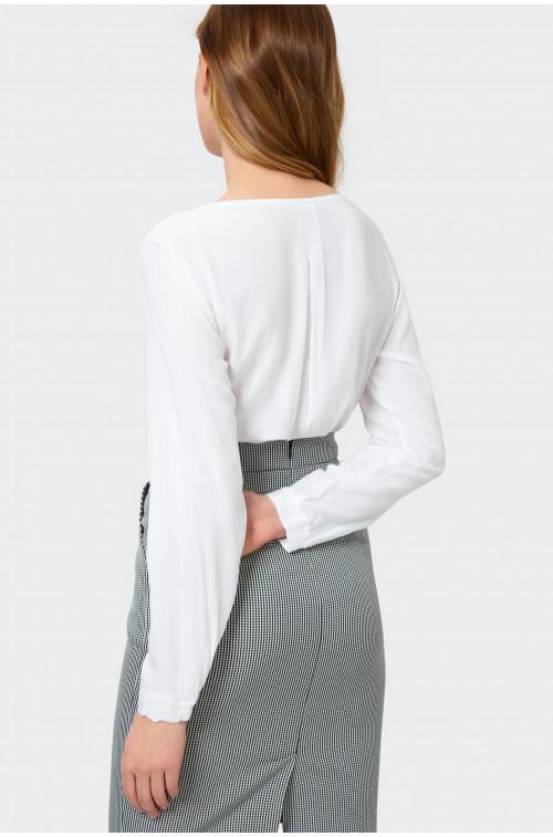 Rozpinana bluzka