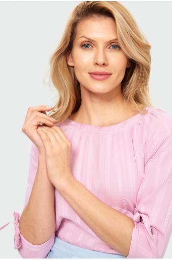 Bluzka z lamówką