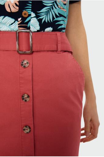 Ołówkowa spódnica z guzikami