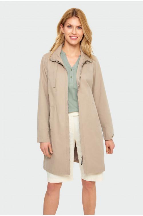 Płaszcz ze stójką