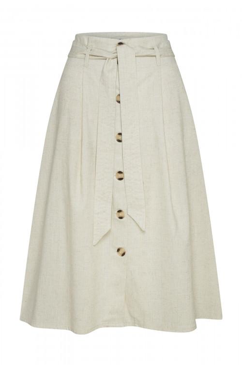 Spódnica z guzikami