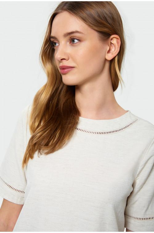 Wiskozowa bluzka z merażką