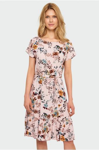 Sukienka z nadrukiem
