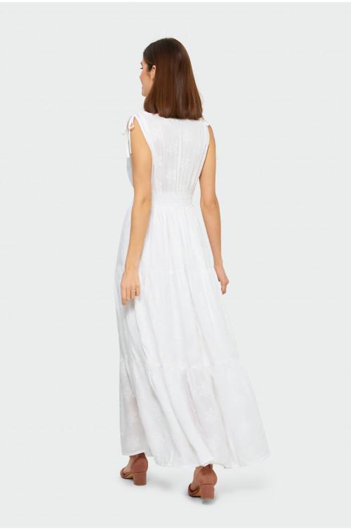 Sukienka z falbanami