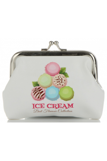Modne Portmonetki Damskie firmy David Jones Multikolor Ice Cream
