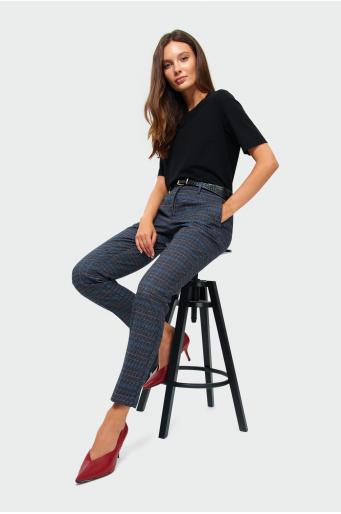 Klasyczne spodnie z nadrukiem