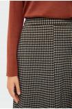 Ołówkowa spódnica w pepitkę