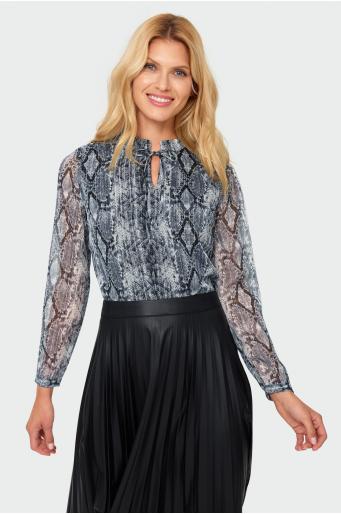 Klasyczna bluzka z nadrukiem