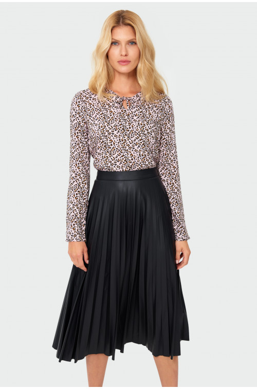 Elegancka plisowana spódnica
