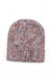 Ciepła czapka z dzianiny strukturalnej