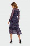 Klasyczna sukienka z gumką w talii