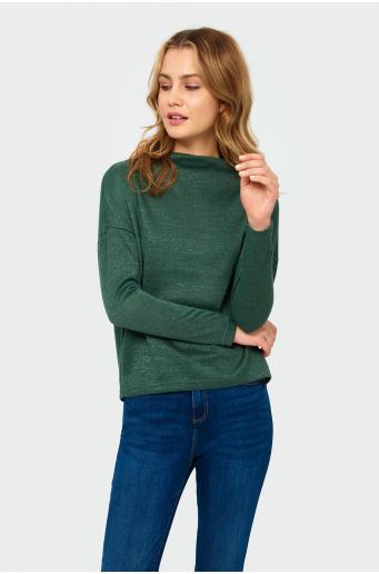 Sweter ze stójką
