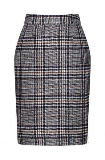 Ciepła ołówkowa spódnica