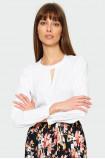 Elegancka bluzka z marszczeniami