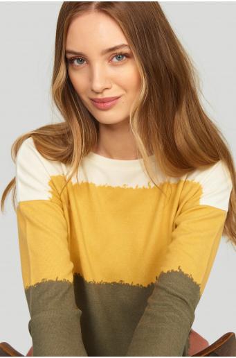 Sweter z nadrukiem