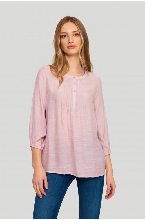 Elegancka bluzka z pliskami