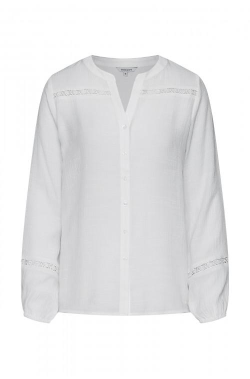 Elegancka bluzka z koronkami