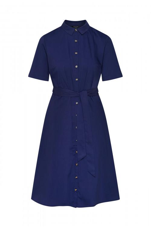 Bawełniana sukienka typu szmizjerka