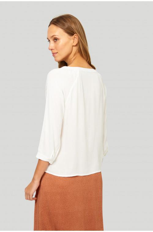 Elegancka bluzka z raglanowym rękawem