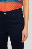 Denimowe, dopasowane spodnie