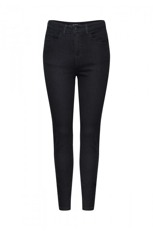 Elastyczne denimowe spodnie o kroju slim- fit