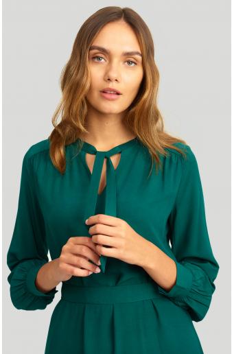 Elegancka, wiskozowa sukienka