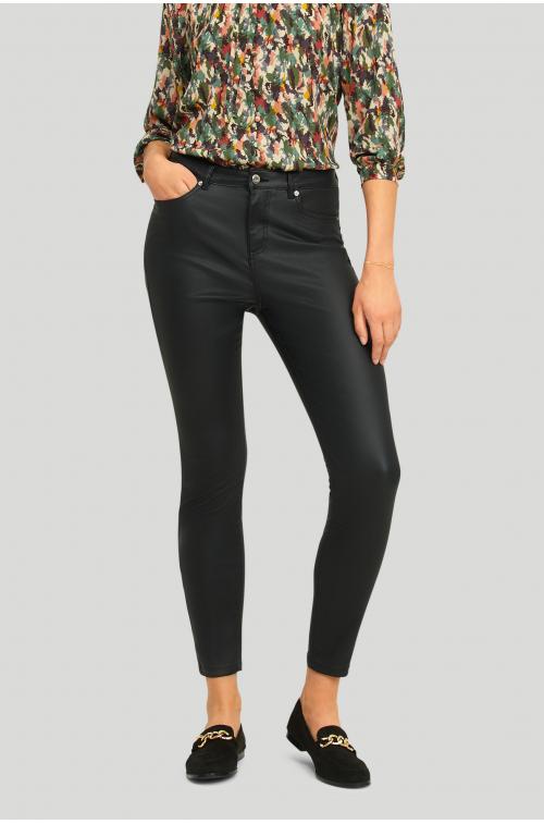 Klasyczne powlekane spodnie