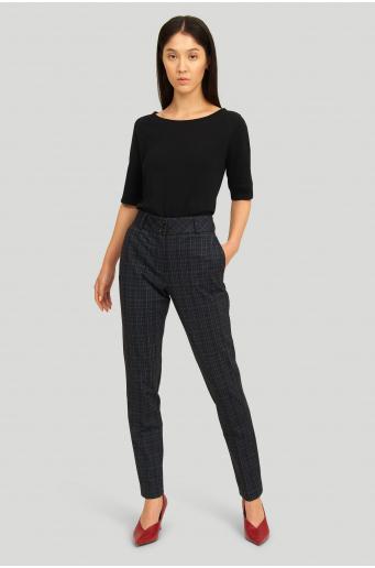Eleganckie spodnie z nadrukiem