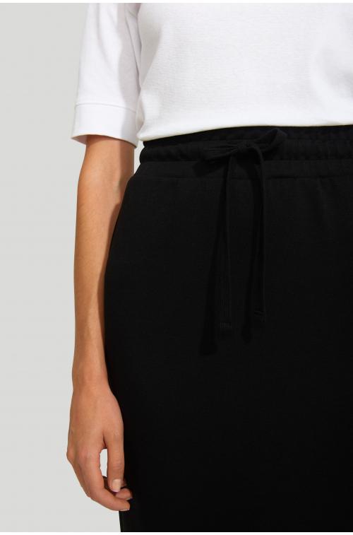 Spódnica dzianinowa z dodatkiem włókien ekologicznych