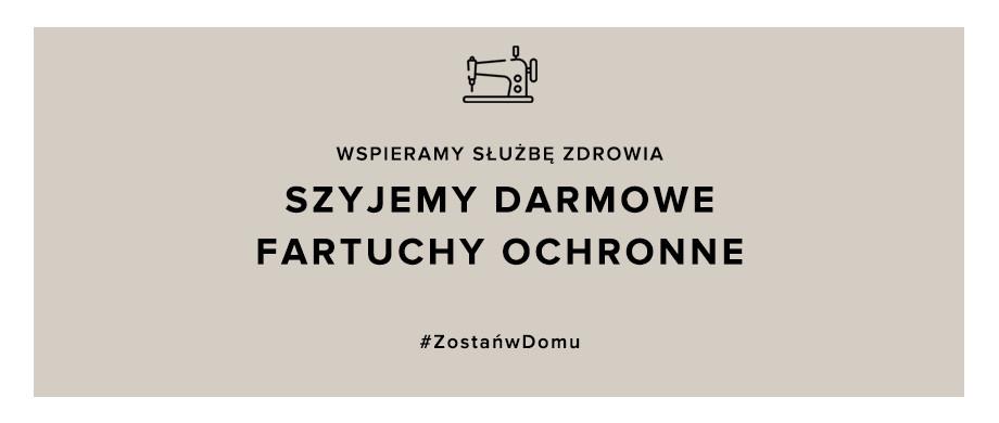 Do walki z koronawirusem włączają się krakowskie marki odzieżowe!