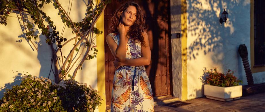 Żar tropików, czyli ubrania w egzotyczne wzory